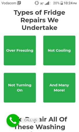 Refrigerators and air-conditioning installation and repair