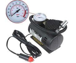 Автомобильный компрессор 300 Авто насос от прикуривателя 12в компресор