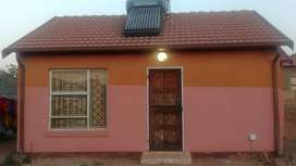 This is a 2 bedroomed house available 1 july