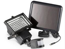 Lampa SOLAR 60 LED,Czujnik ruchu,Halogen SOLARNY,oświetlenie Za Darmo