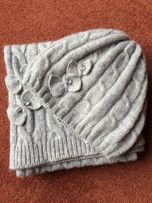 шерстяная шапка и шарф oasis karen millen Италия новый