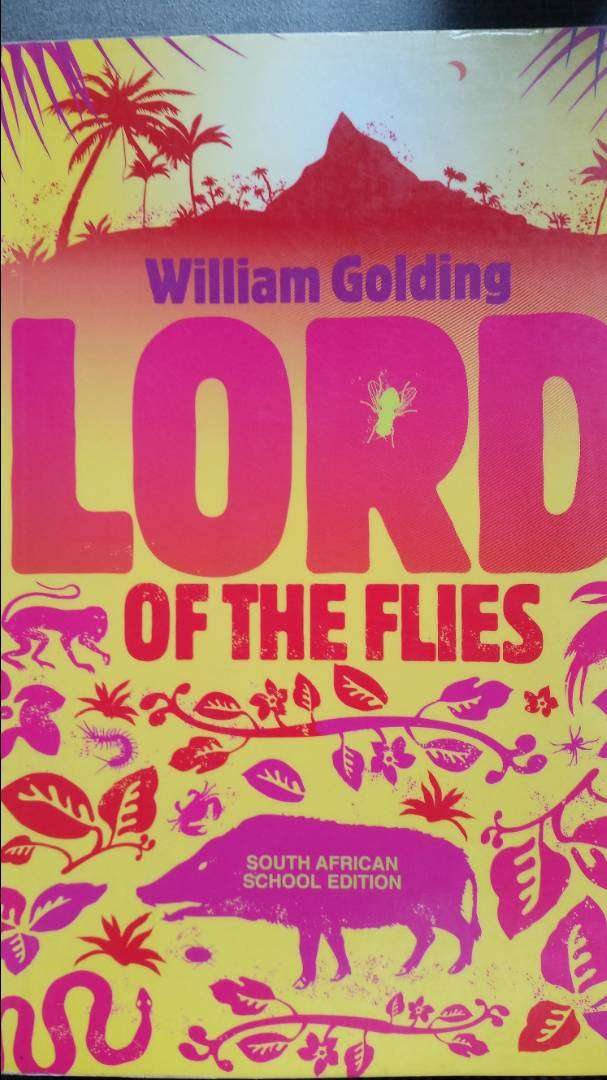 Lord of the Flies - William Golding School Edition book for sale 0