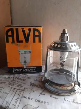 Aval gas lamp