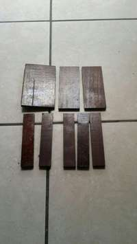 Image of Wooden block tiles for sale.