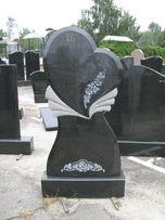 Памятники, огорожі, вази, гранітні вироби
