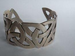 ladna srebrna bransoletka proba 925