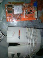 Głośniki komputera i karta graficzna