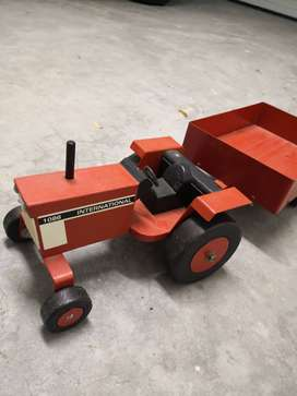 Hand made wooden toy car