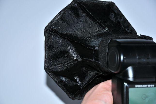 Софтбокс Октагон 20см, для накамерной вспышки, рассеиватель Октабокс Днепр - изображение 5