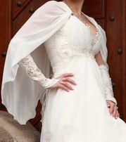 Срочно красивое свадебное платье в греческом стиле