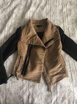 Замшевая косуха,куртка,кожанка, модная, стильная