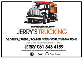 Jerrys Trucking And Deliveries -  Rommel /Short Delivery /Sand / TRUST