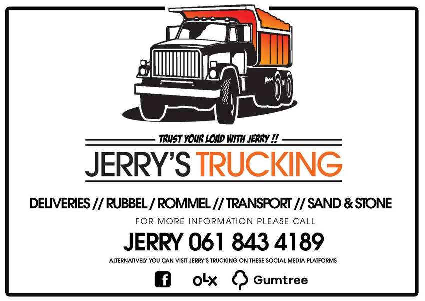 Jerrys Trucking And Deliveries -  Rommel /Short Delivery /Sand / TRUST 0