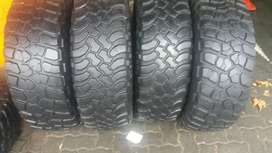A set of tyres sizes 285/75/16 bf Goodrich now available