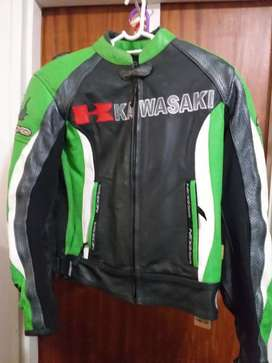 Nexo Sport Kawasaki Ladies Leather Bike Jacket