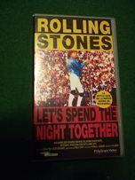 Kaseta VHS -Rolling Stones -Let's spend the night together