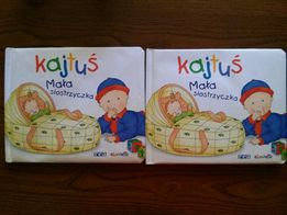 Kajutuś mała siostrzyczka książeczka dla dzieci
