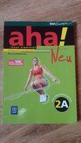 """Podręcznik z języka niemieckiego """"aha! Neu 2A"""""""