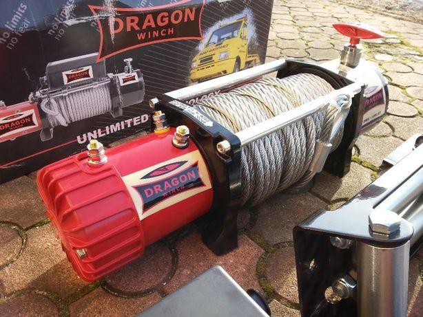 Wyciągarka, wciągarka samochodowa Dragon Winch DWM 13000 ST 12V 6/12T Dobra - image 3