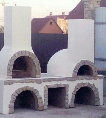 Печі, каміни, тандири, барбекю (печи, камины, барбекю, тандыр). Бровары - изображение 1