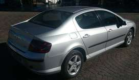 Stripping peugeot 407