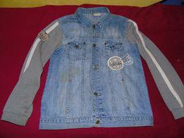 Весняний джинсовий піджак ріст 152 ціна 80 гривень
