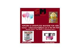 POPCORN & CANDY FLOSS MACHINE FOR HIRE !!!
