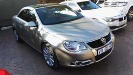 2008 Vw EOS 2.0 convertible Automatic