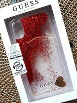 Iphone case Guess Glitter