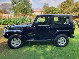 2007 Black Jeep Wrangler, 3,8L V6, 2 Door