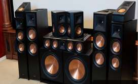 klipsch 7.2.4 dolby atmos home theater system