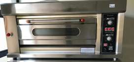 Brand new industrial bakery ovens 1 deck 2 tray oven