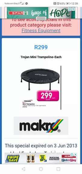 WANTED... MINI TRAMPOLINE