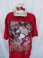 Red Wings Коллекционная футболка и кепка NHL автографы игроков 1997/98