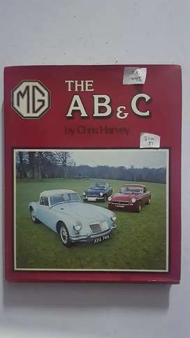 MG A B And Cs hard cover book