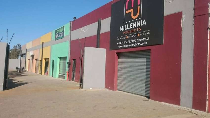 Industrial Warehouse & Shops to LET / RENT in Nancefield near Lenasia 0
