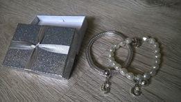 nowe bransoletki avon z literka g