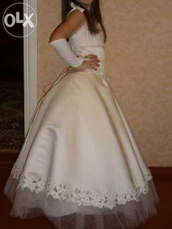Нарядное пышное платье для девочки 5-8 лет. Прокат платья