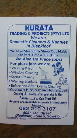 Domestic Workers/ Helpers in Soweto