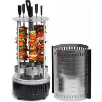 Электрошашлычница шашлычница Domotec BBQ на 6 шампуров 1000W