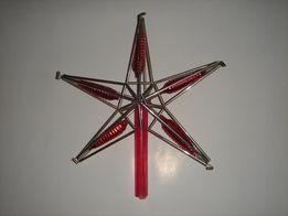 Продам ёлочную игрушку СССР-Звезда,60-х годов