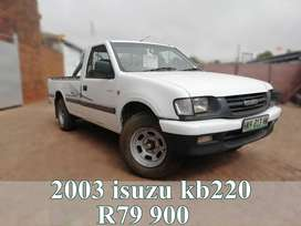 2003 Isuzu kb220 single cab