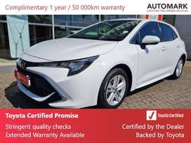 Toyota Corolla 1.2T XR CVT 5DR FOR SALE