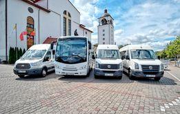 Przewóz osob - 34 osobowy miniautokar , Busy 8 , 18 , 23 , 26 osob
