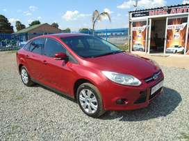 2013 Ford Focus 1.6 sedan with 84000km