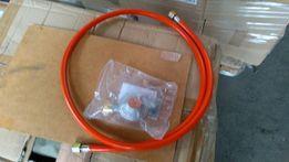 Zestaw gazowy 50mbar do grilla gazowego piecyka nagrzewnicy reduktor