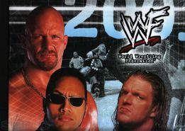"""Календарь - каталог """" World Wrestling Federation """" Коллекци"""