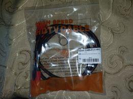Продам HDMI HDTV кабель высокой скорости и чёткости 1,5 метра