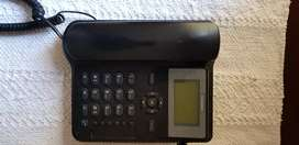 Cordless simcard operated phone