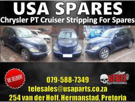 CHRYSLER PT CRUISER STRIPPING FOR SPARES